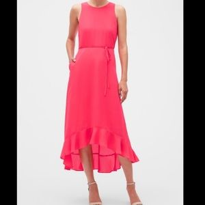 Banana republic factory Neon Maxi Dress Size 6